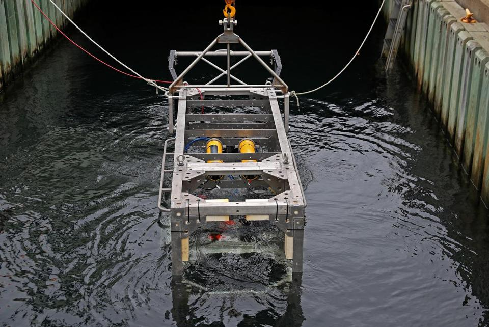 DEEP-SEE testing at Woods Hole Oceanographic Institution.